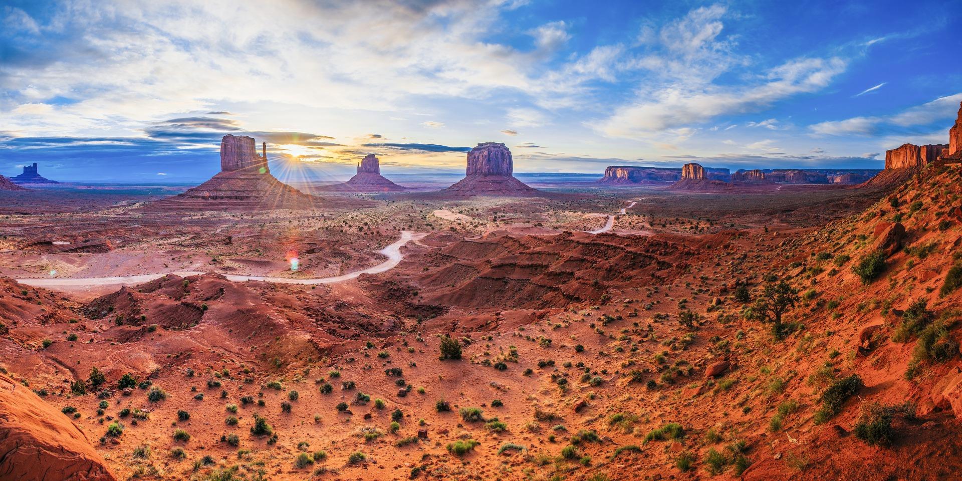 Monument Valley med övernattning