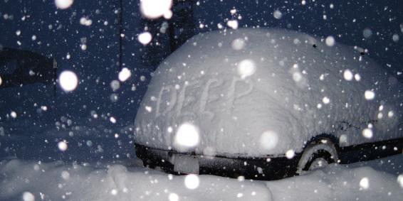 Det snöar massor i Kanada & USA…