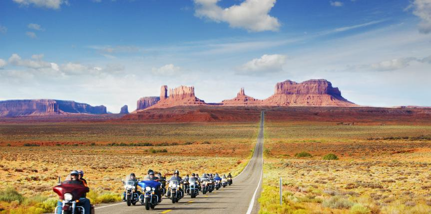 Southwest 1 Motorcycle Tour