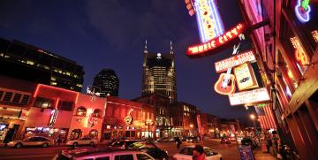 """Honky Tonk"" i Nashville, Tennessee"
