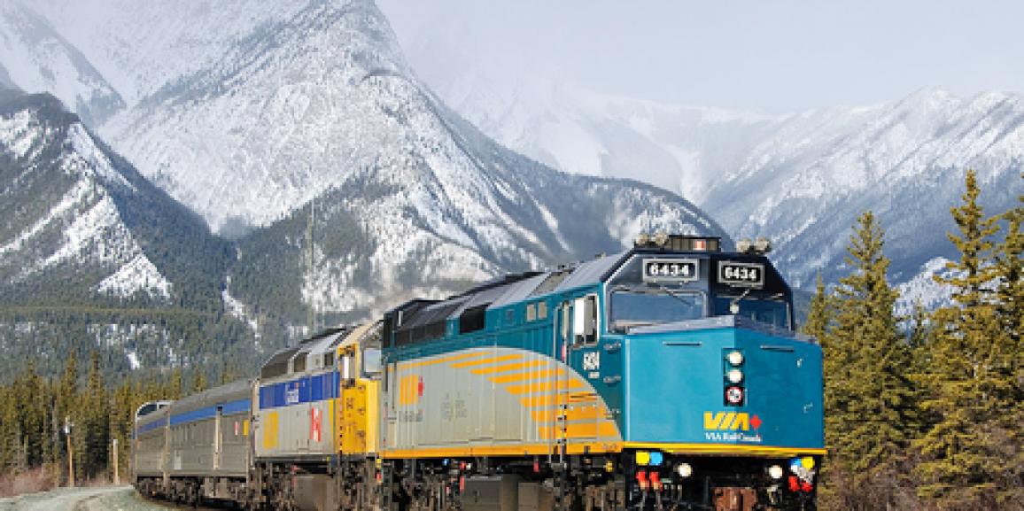 Åk tåg i Kanada!